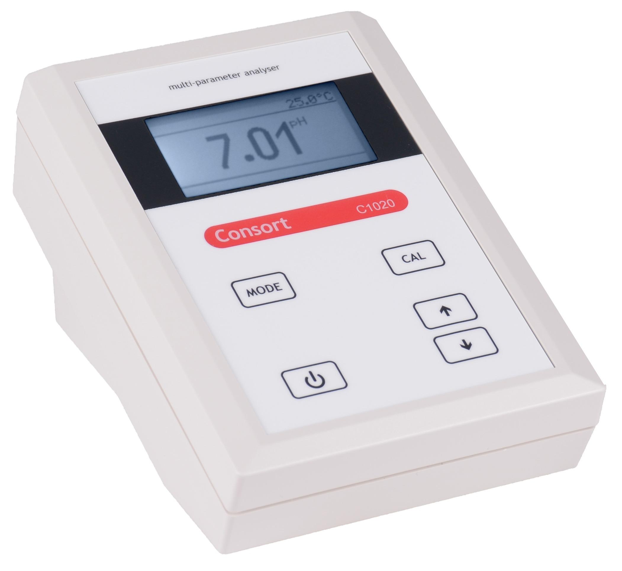 مولتی پارامتر انالایزر رومیزی مدل C1010 کمپانی CONSORT بلژیک