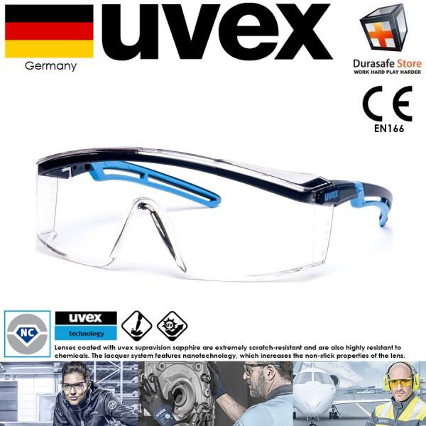 عینک ایمنی مدل ASTROSPEC کمپانی UVEX آلمان